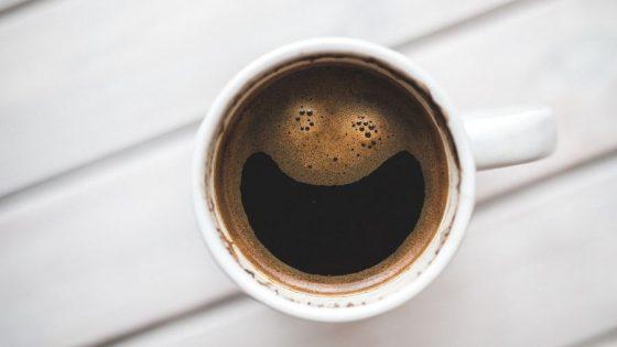 Типичная чашка кофе