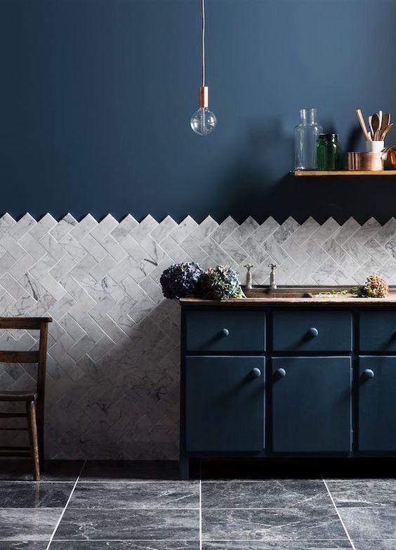 Перекрасить кухонные стены