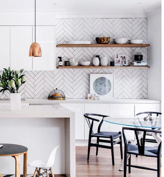 украсить кухонные стены