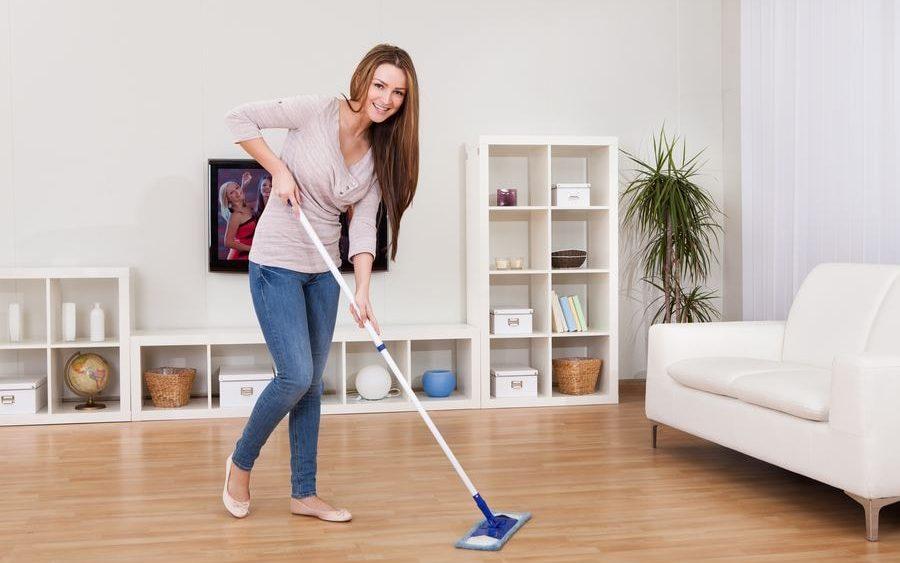 быстро убрать свой дом