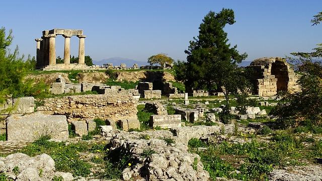 Древний Город Коринф
