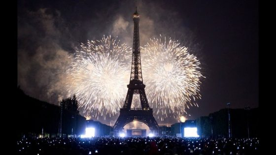 New Year Paris