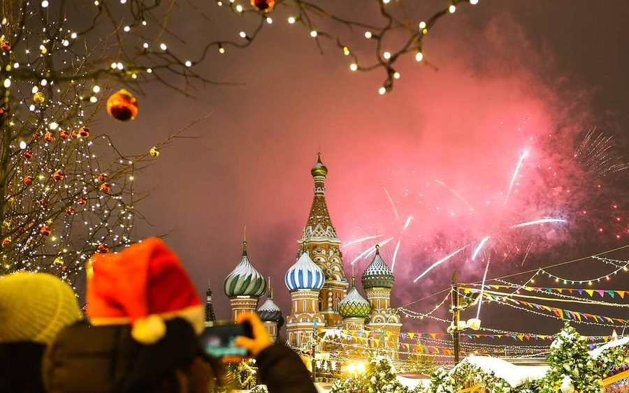 New Year Russia