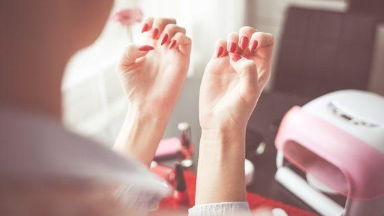 здоровых ногтей
