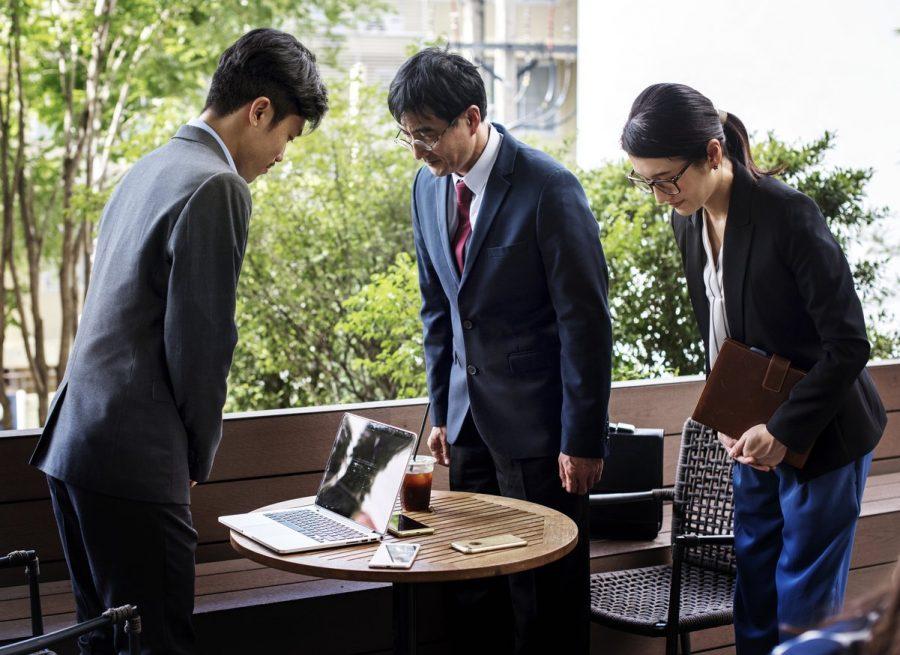 деловой поездки в Японию